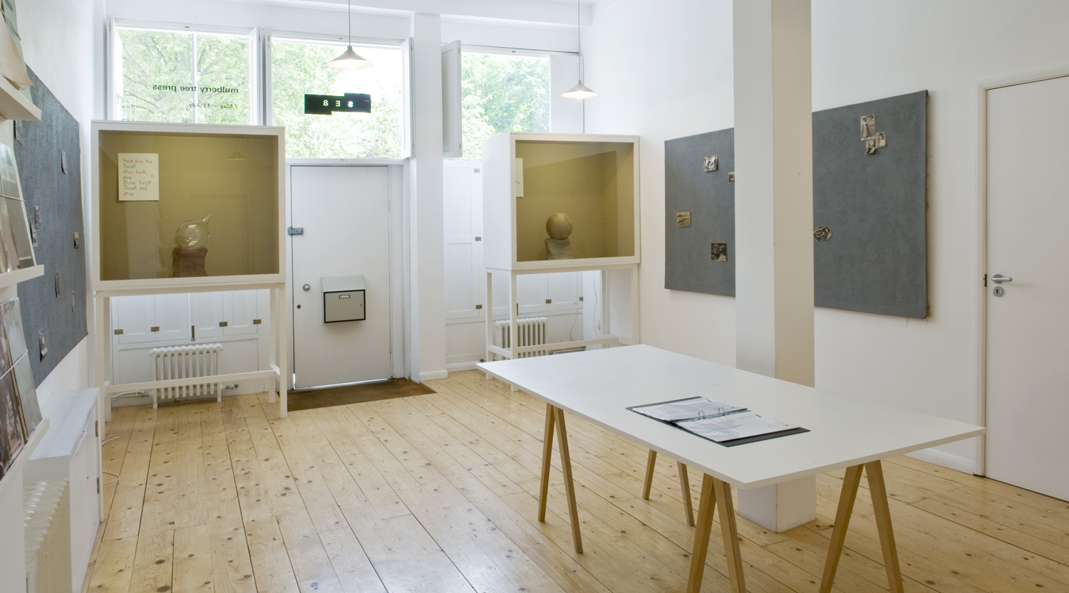 Installation view Part 1 Mulberry Tree Press