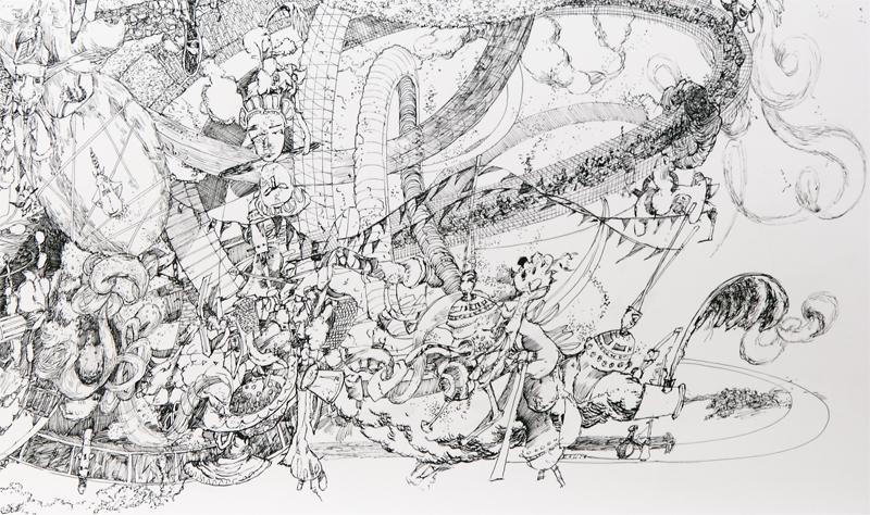 Djen-uh-rey-ter (Plenum VII) Detail click on image to enlarge