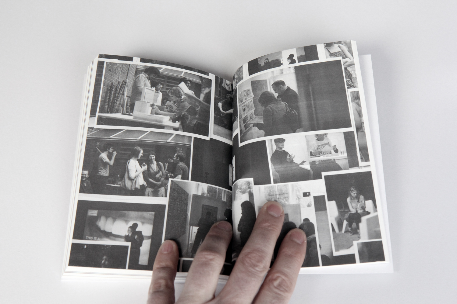 Mulberry Tree Press - printed matter - sample page