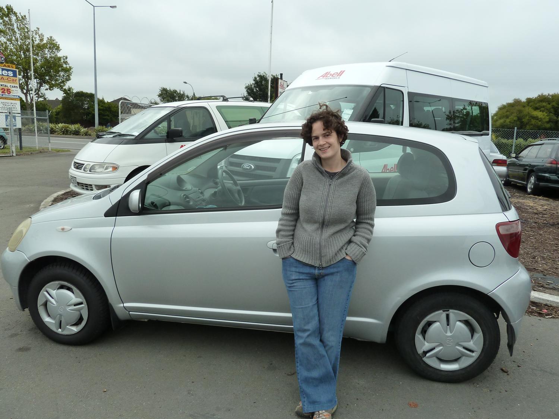 Our Rental Car, Scottie.