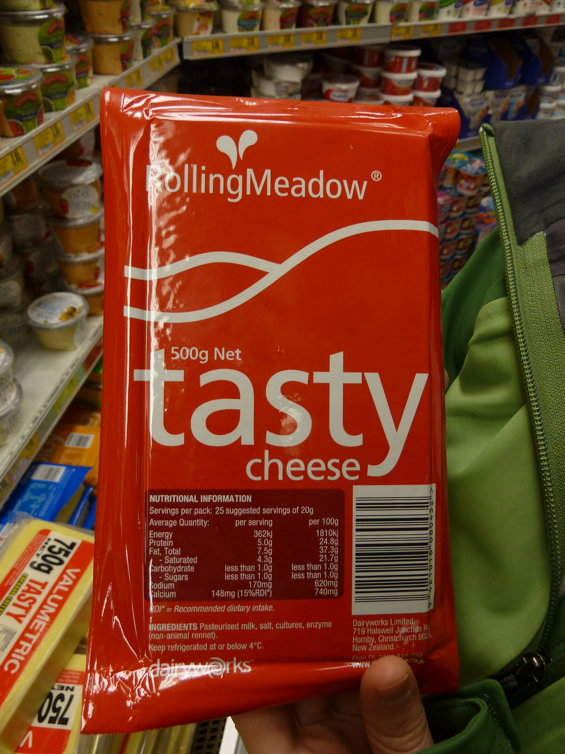 That's Right! This Brand Of Cheese Is Tasty.