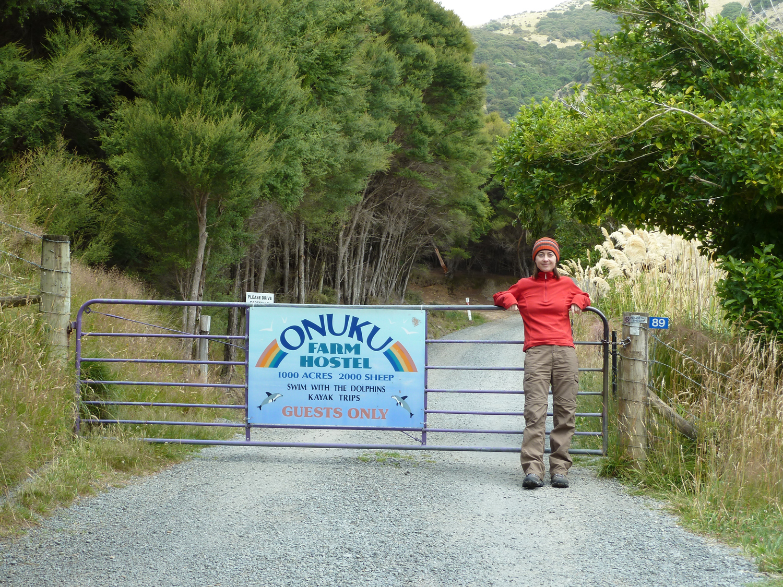 Entryway To Onuku Farm Hostel