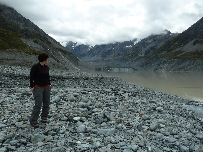 Katie And Hooker Glacier