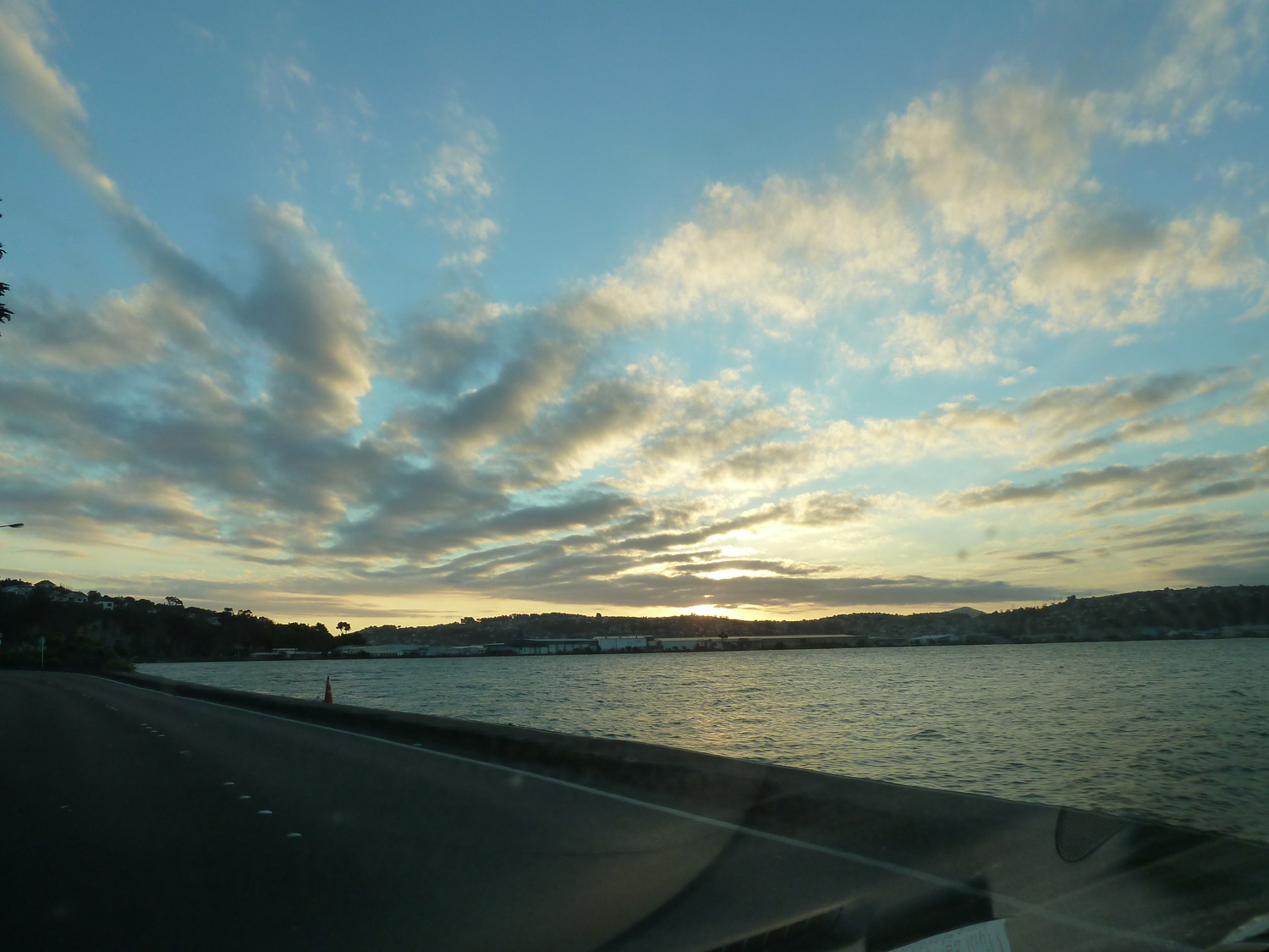 Our Drive Home Along The Bay