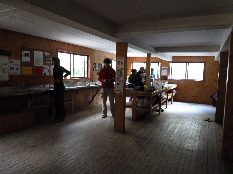 Inside Mintaro Hut