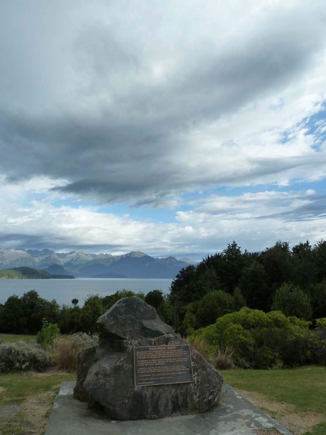 Goodbye Lake Manapouri