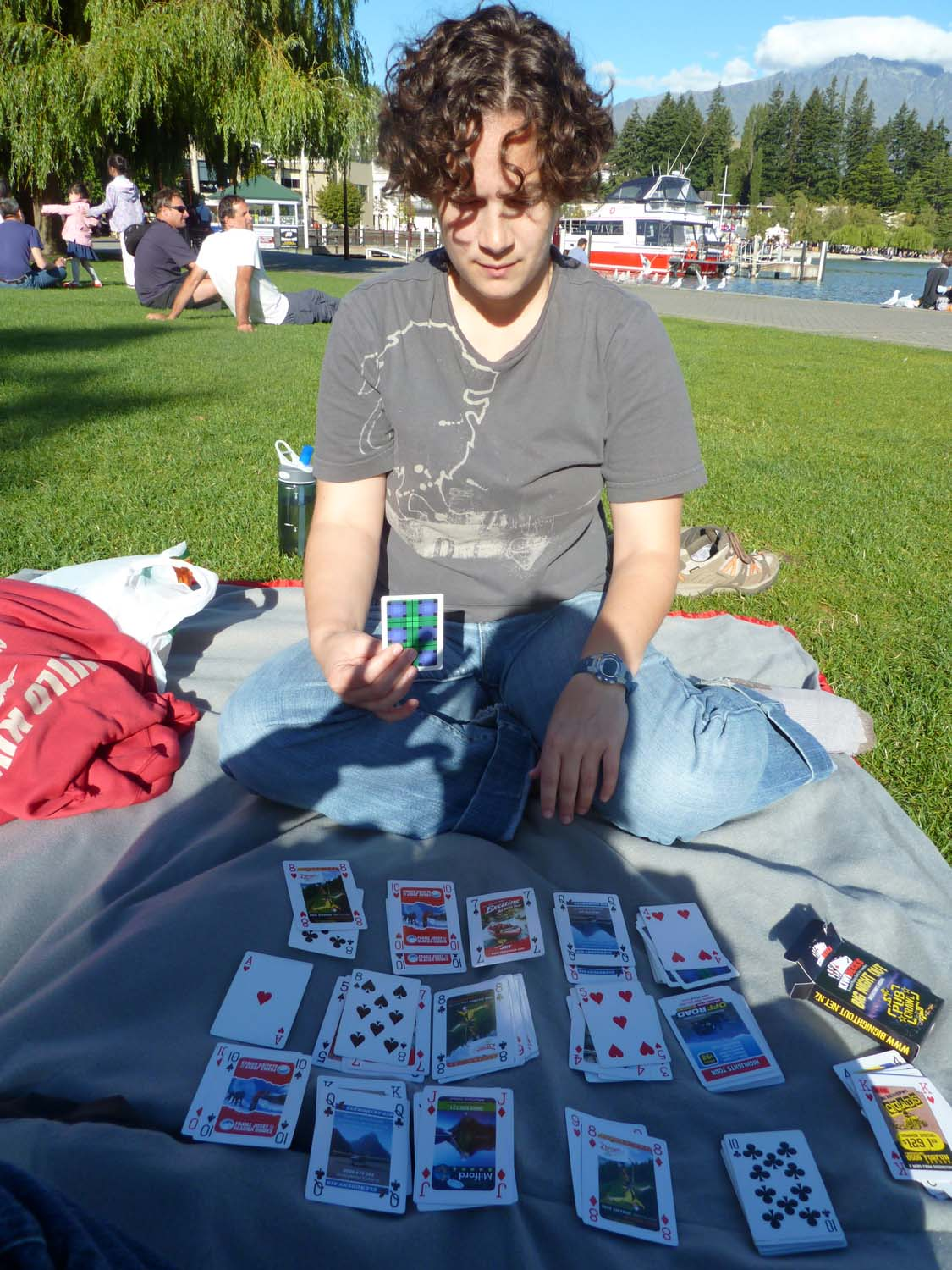 Cards By The Lake