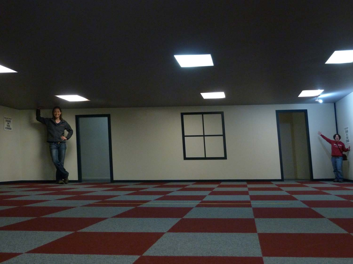 Ames Forced Perspective Room