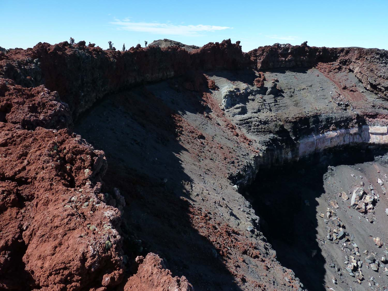 The Summit Crater Of Mount Doom