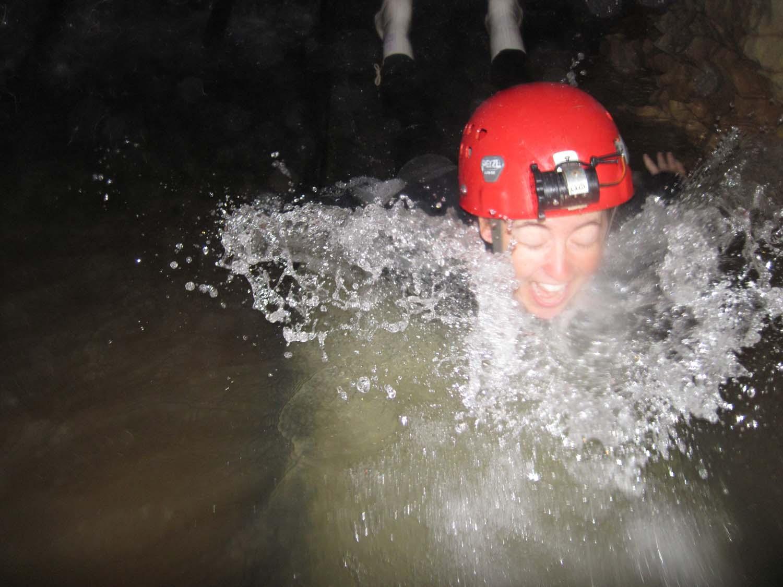 Underground Water Slide