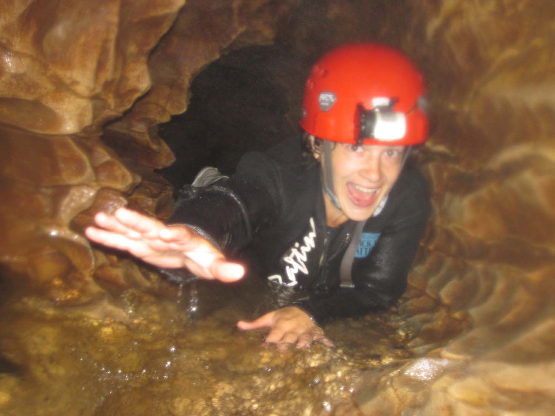 Through The Crevice