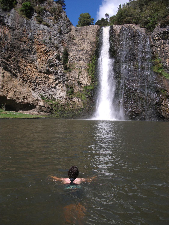 Braving The Frigid Waters
