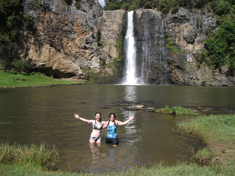 Hanua Falls = Paradise