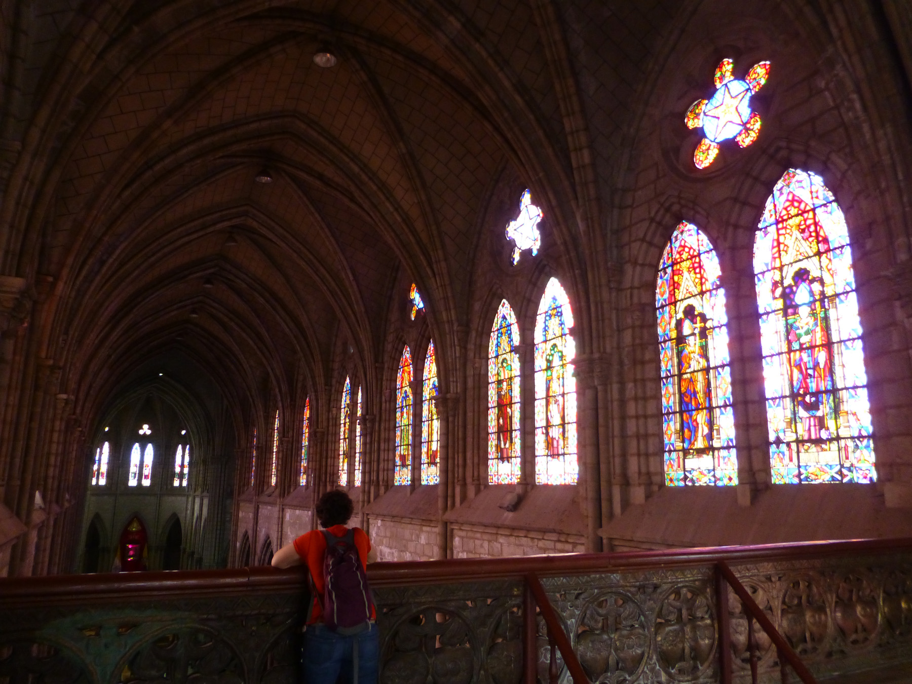 Interior of The Basílica Sanctuary