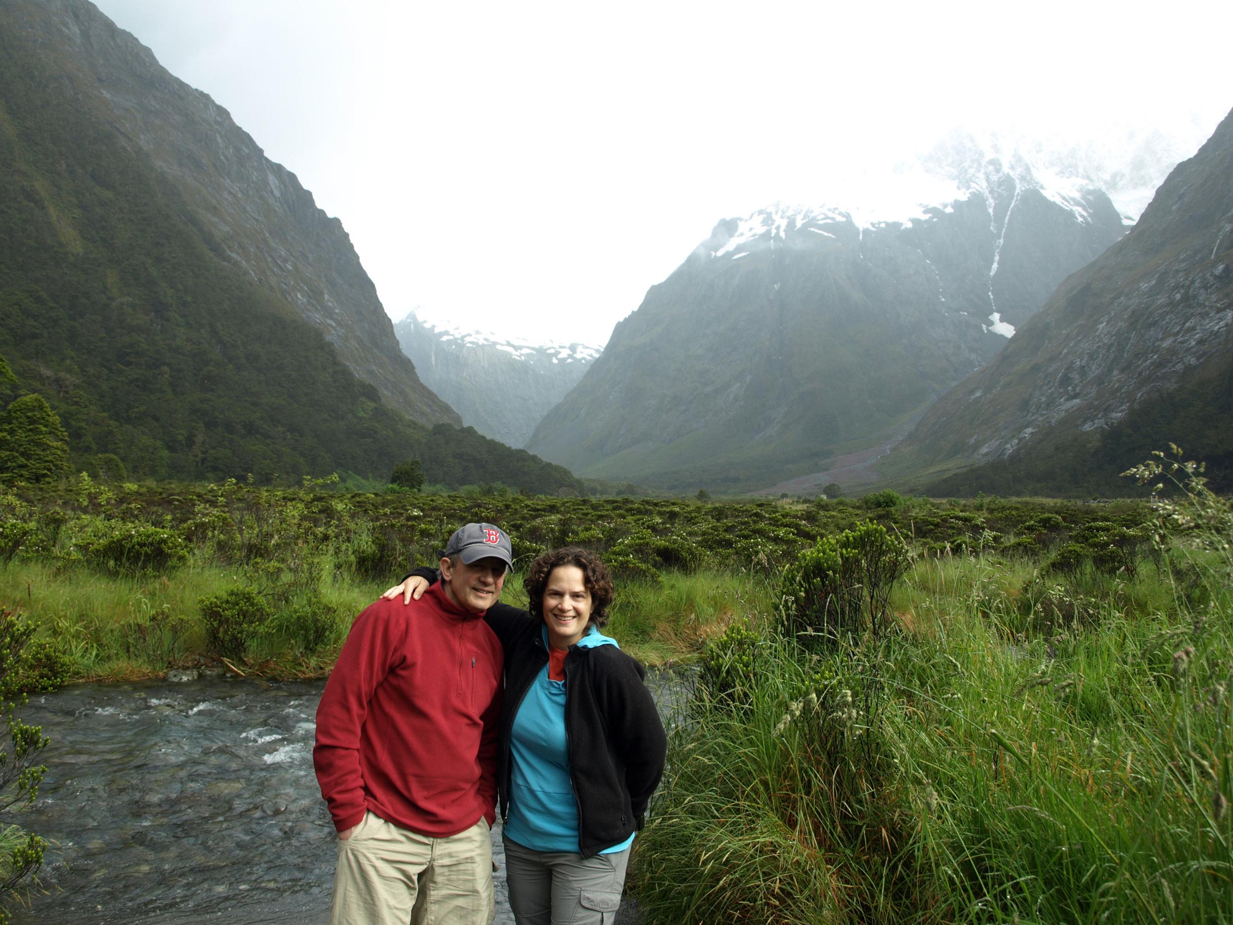 Entering The Fiordland