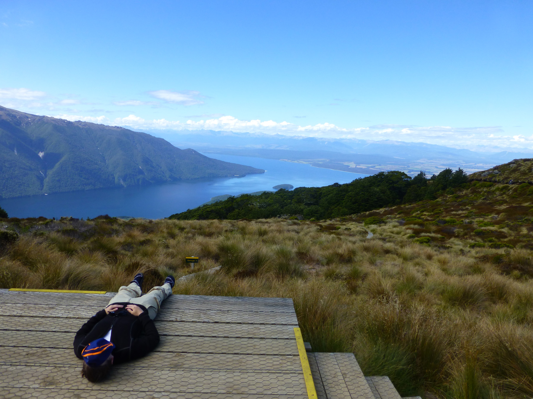 Relaxation At Luxmore Hut