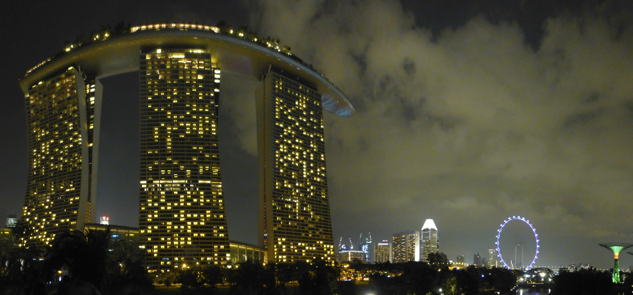 Singpore Skyline