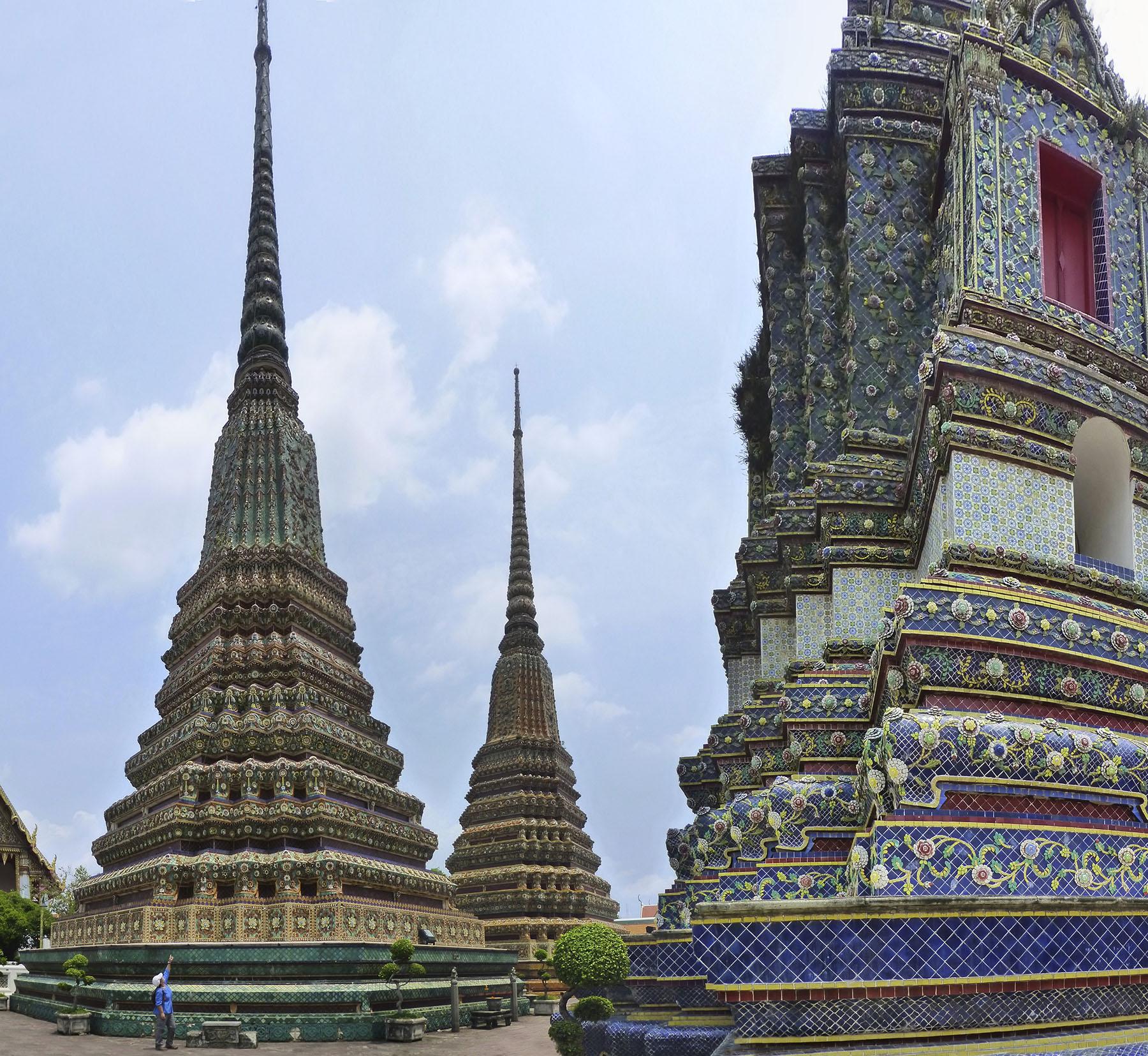 Gorgeous Stupas