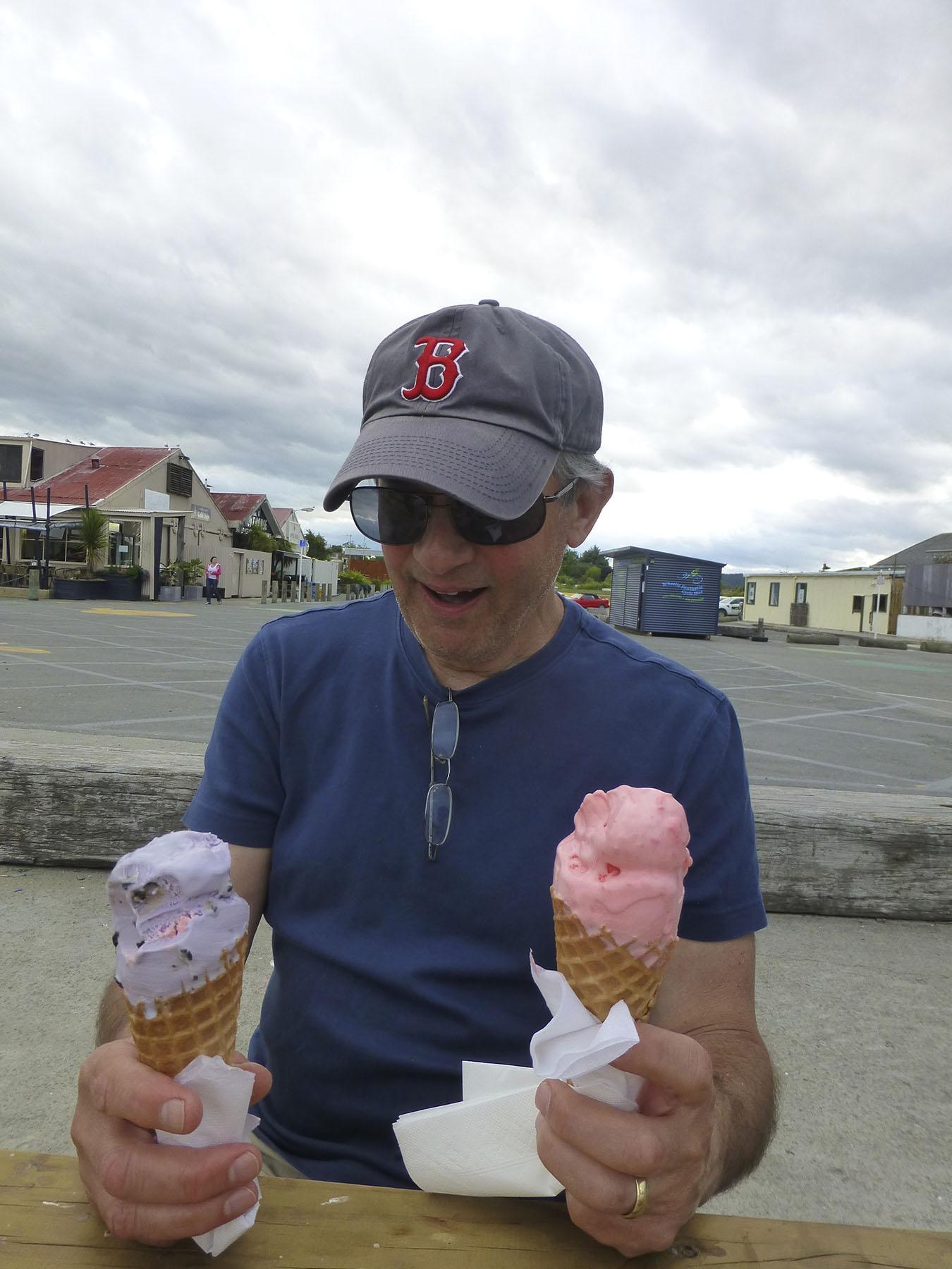 Joe Screams For Ice Cream!