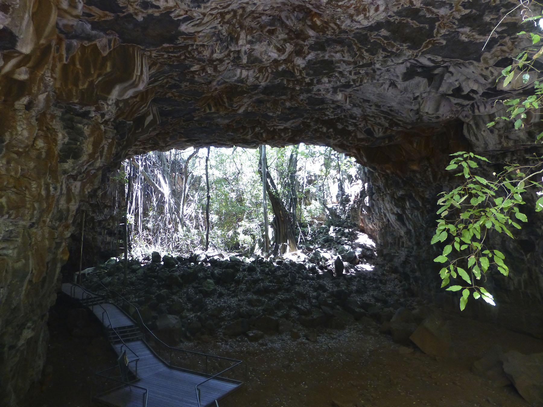Lava Tube Arch