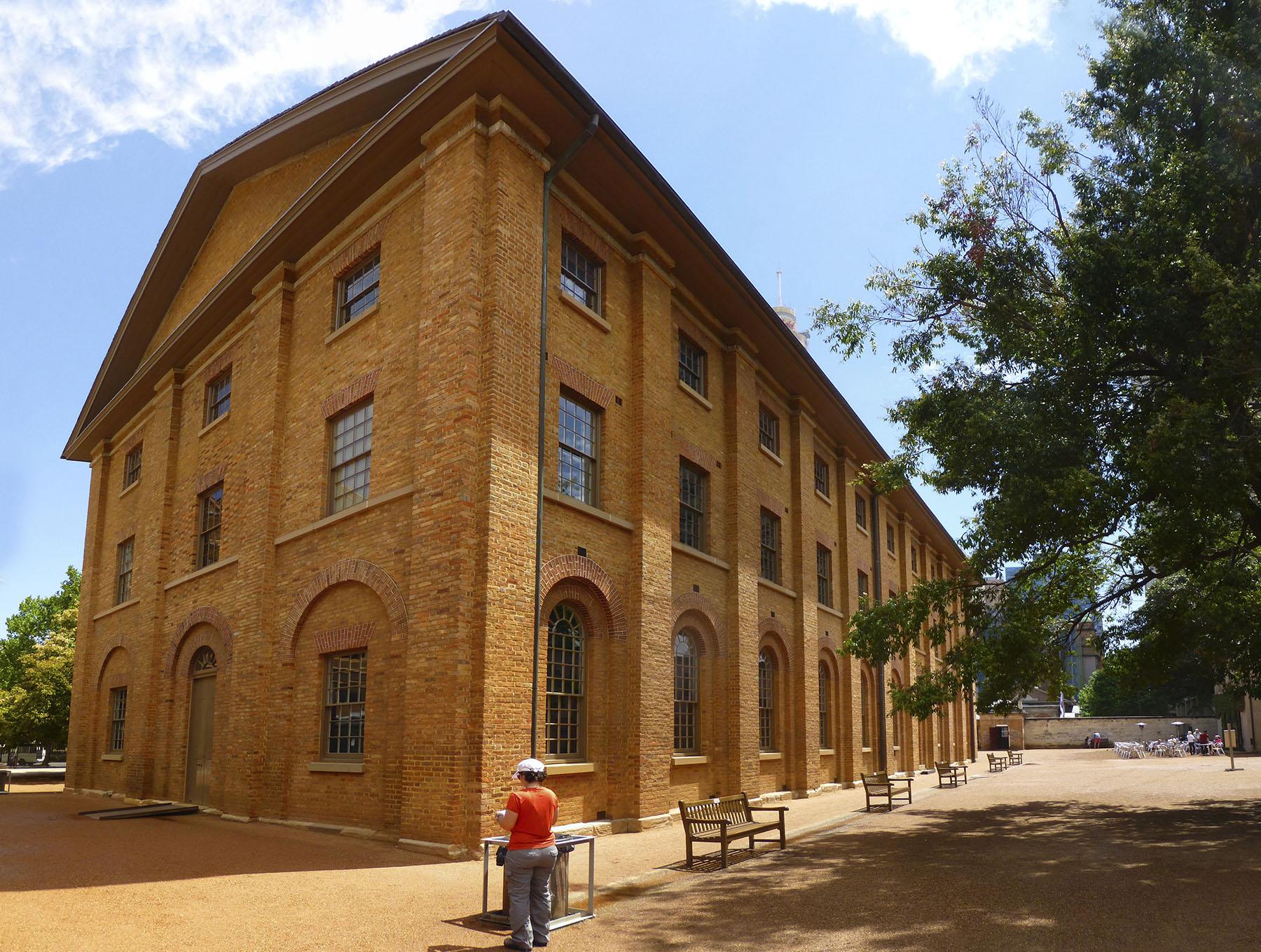 The Hyde Park Barracks