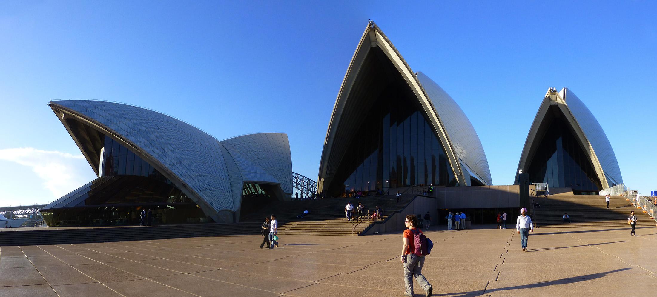 Approaching The Opera House