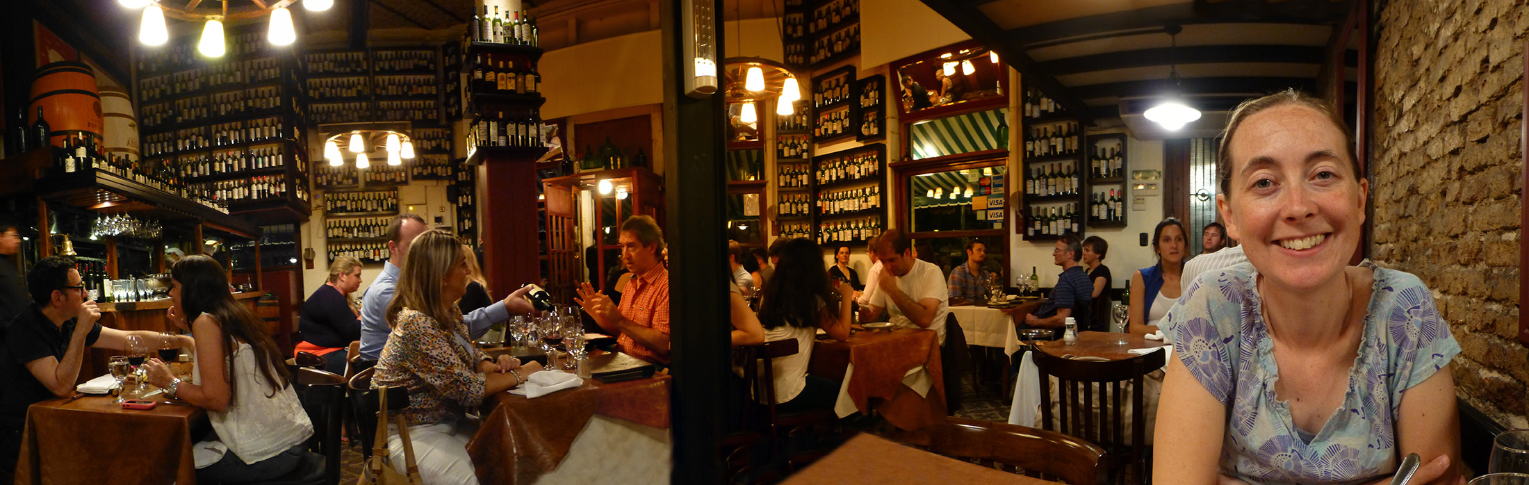 Our Final Dinner In Buenos Aires