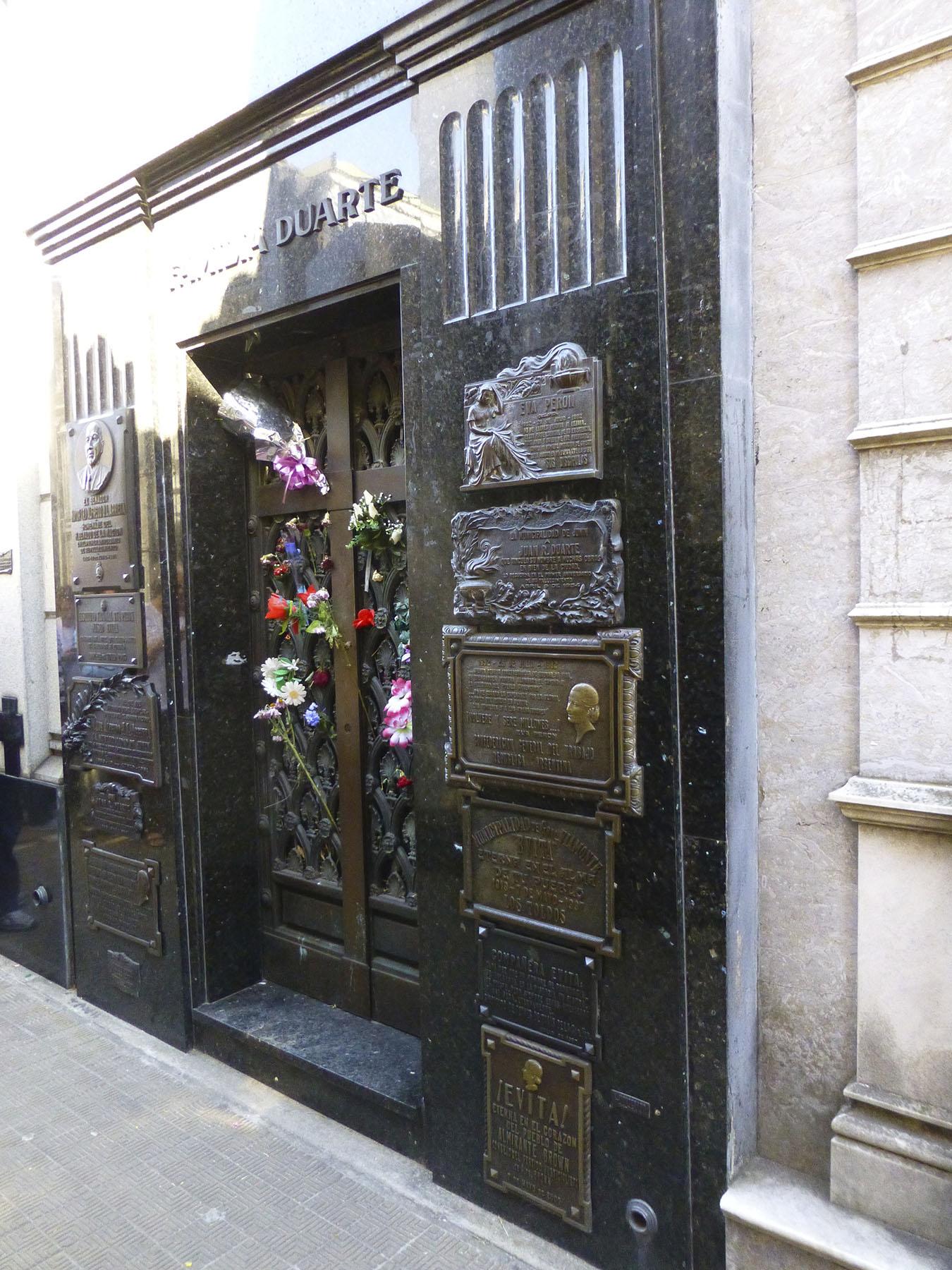 Evita's Final Resting Place