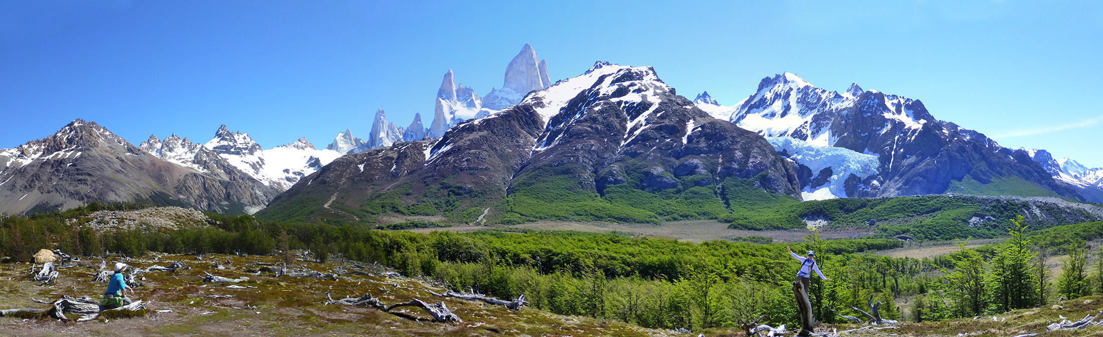 On our way to Fitz Roy