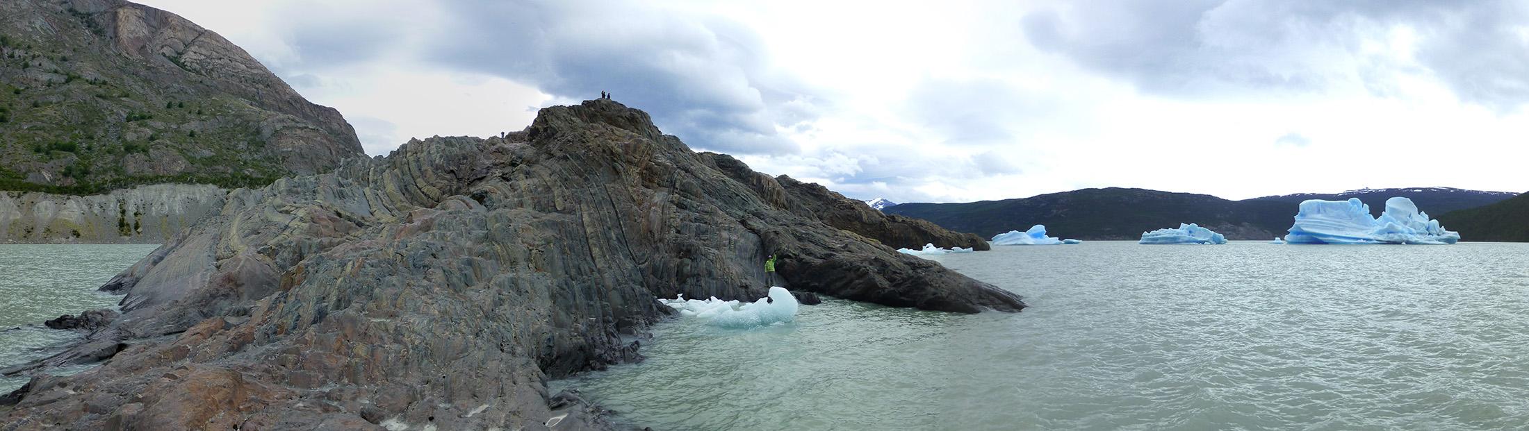 Our Glacier Grey viewing platform.