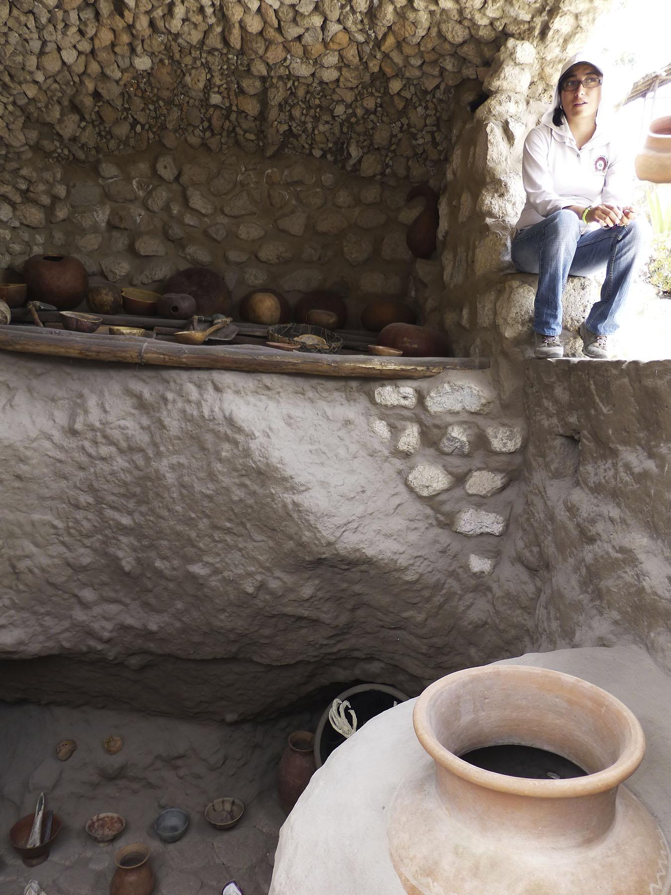 Tour through Museo Inti Ñan