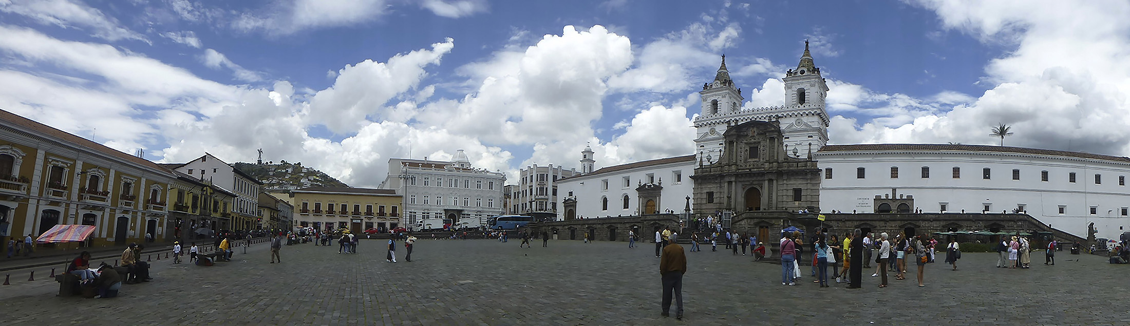 The Plaza San Francisco and the San Francisco Convent