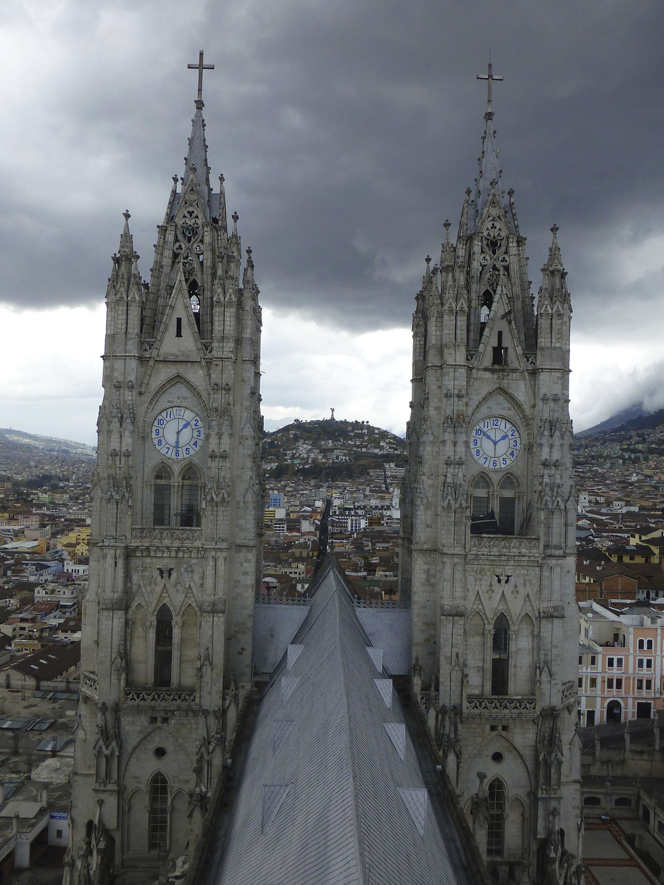 The Two Towers of the Basílica