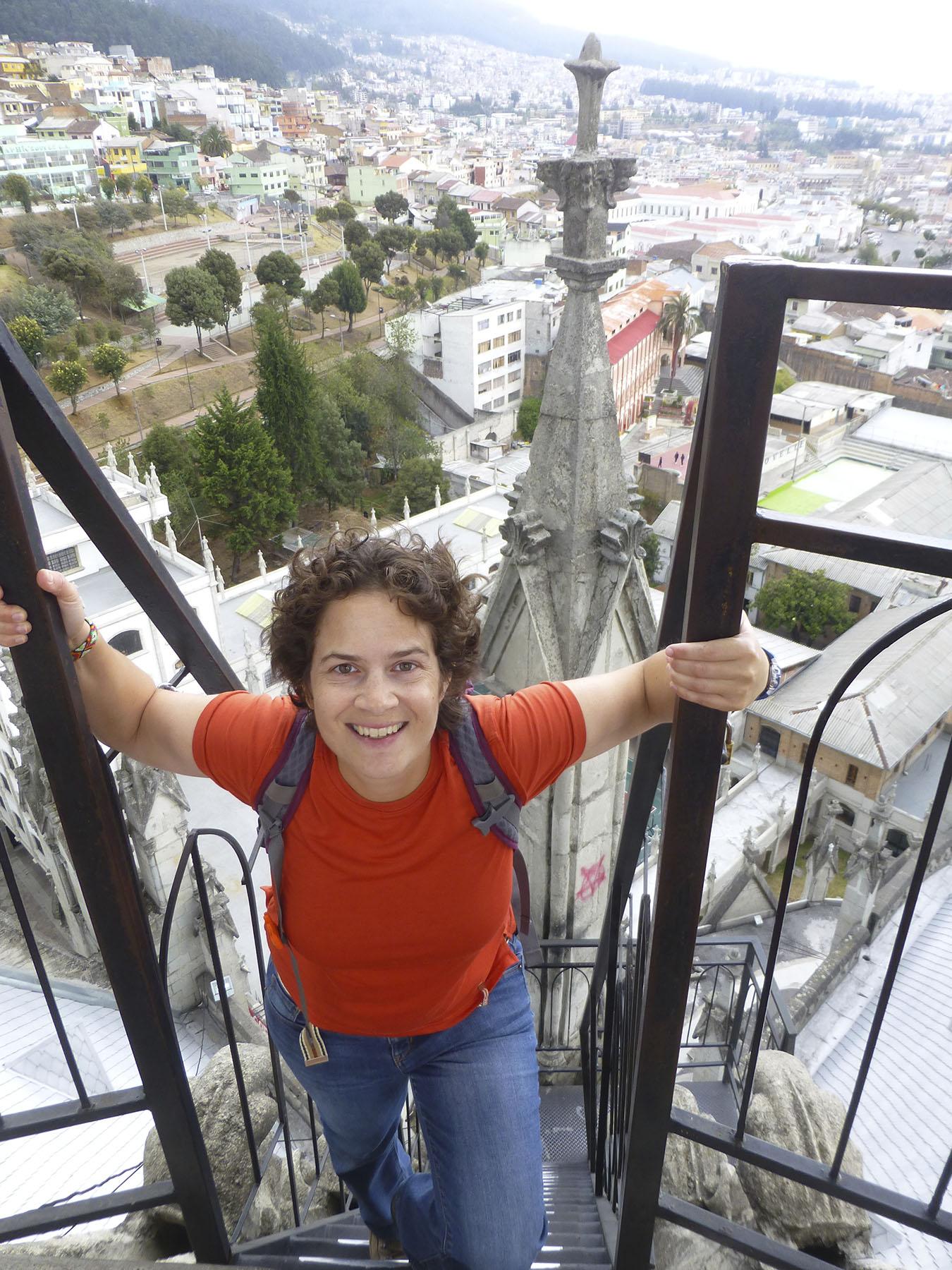 Climbing The Basílica