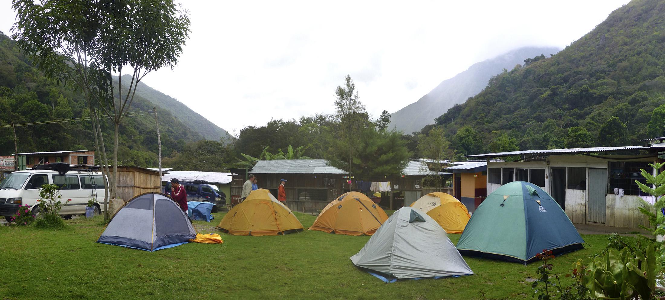 Camping at La Playa