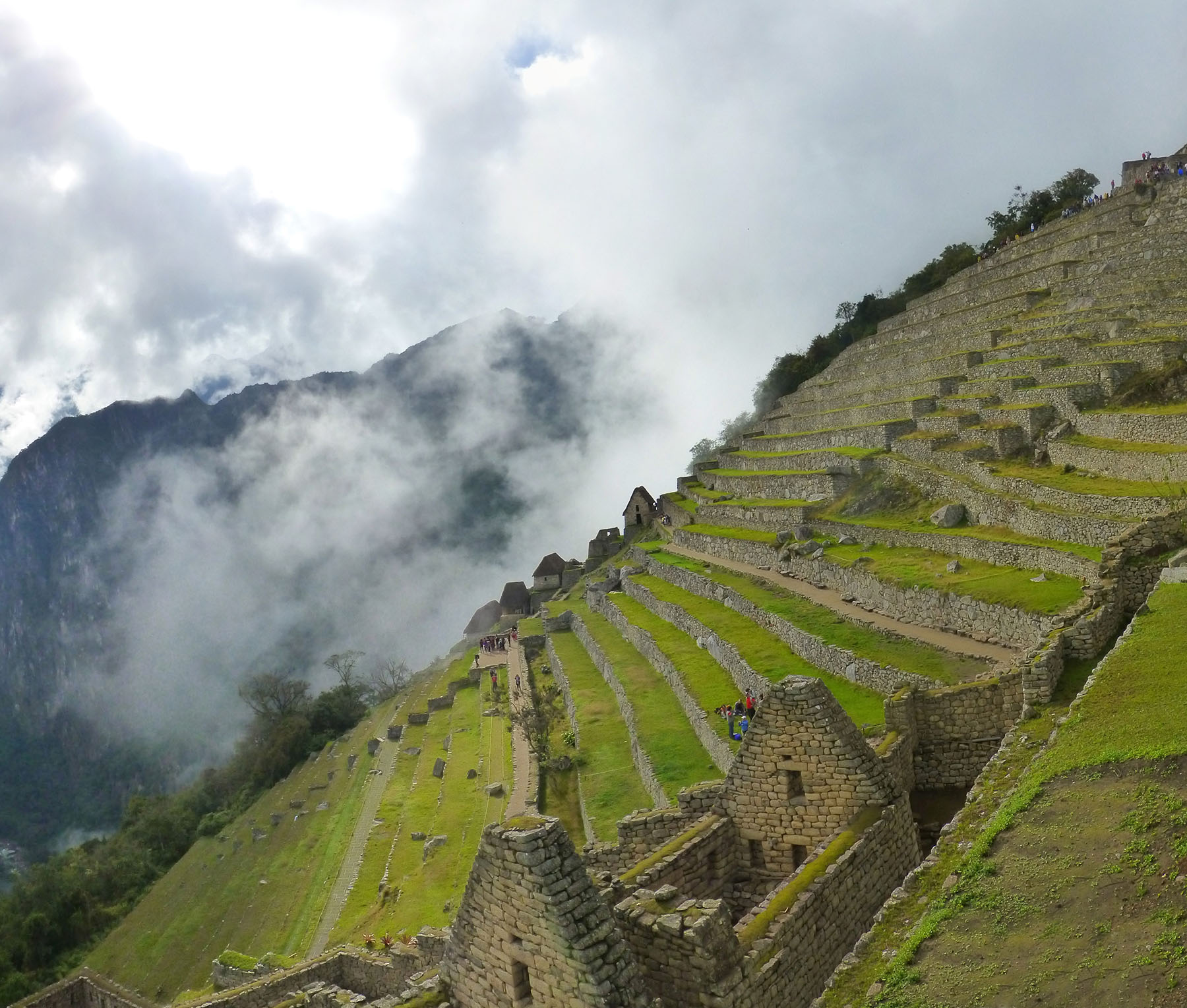 The Argricultural Terraces