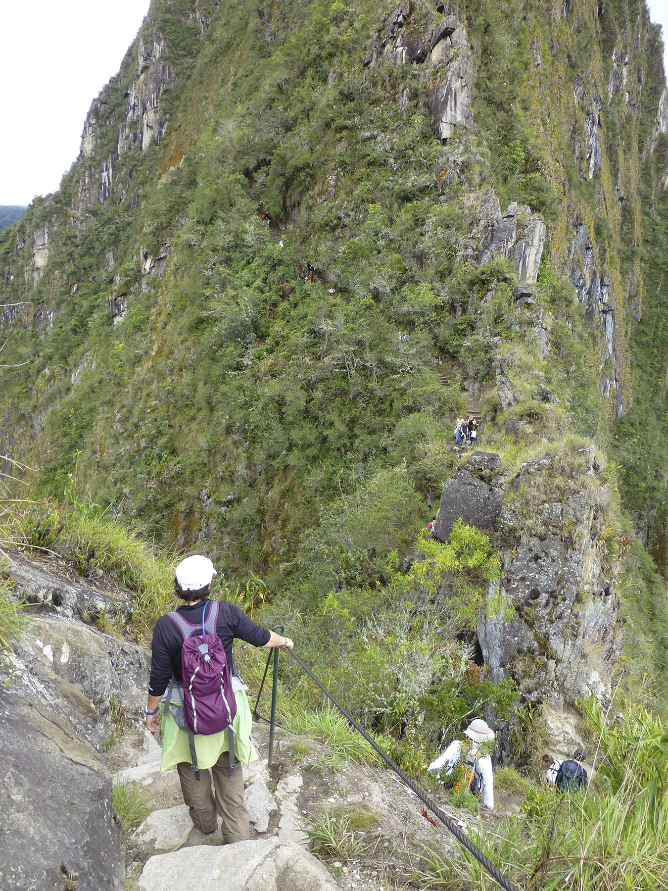 Hiking Out To Huayna Picchu