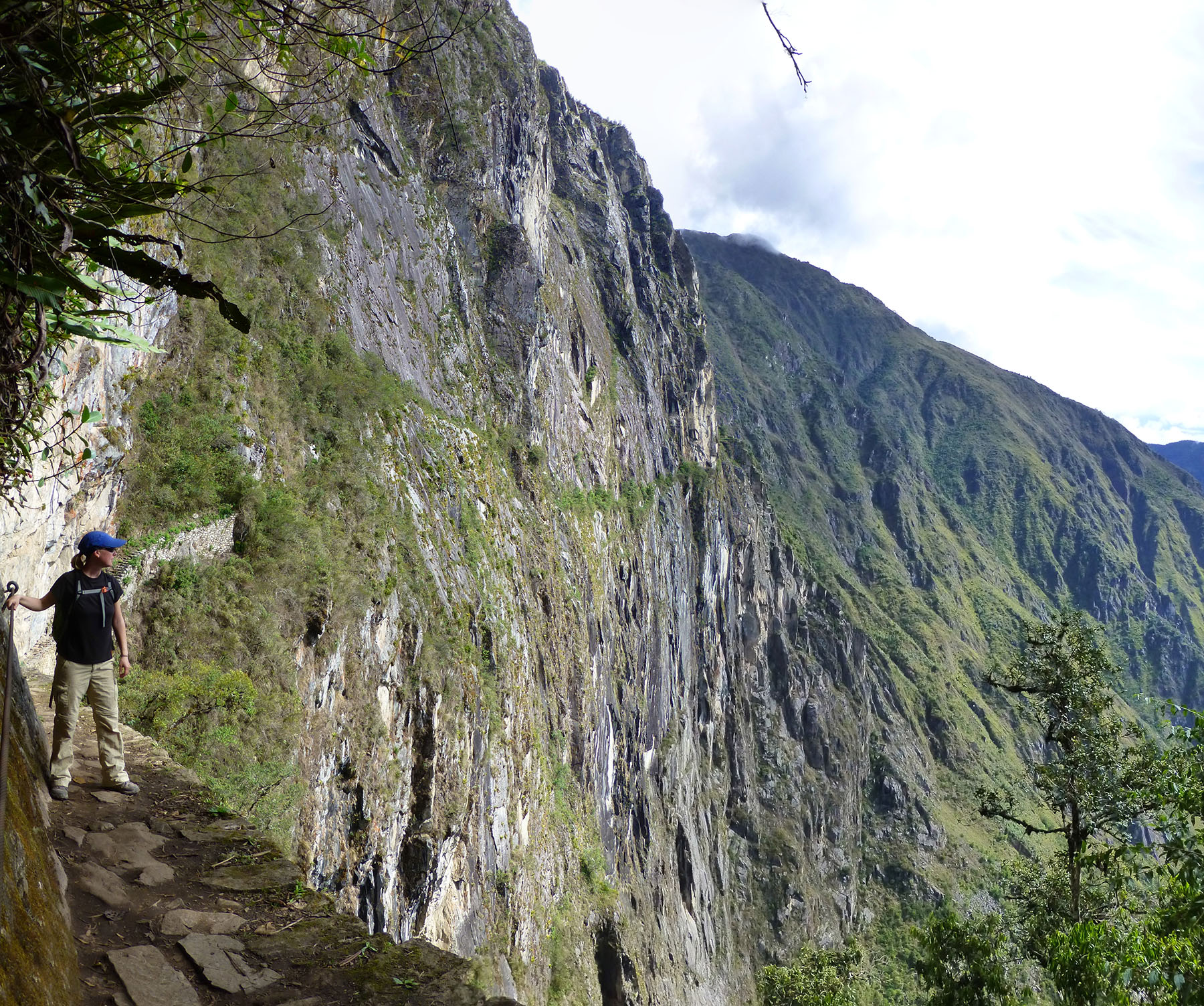 On The Inca Bridge