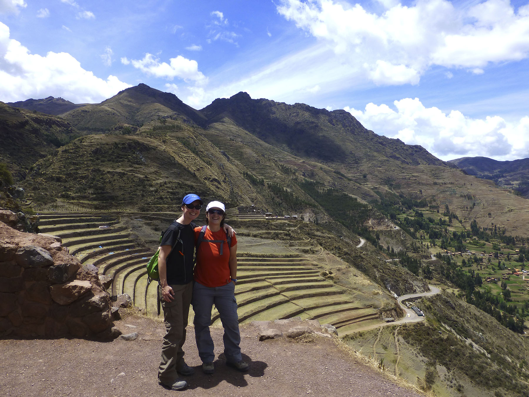 The ruins of Pisac.