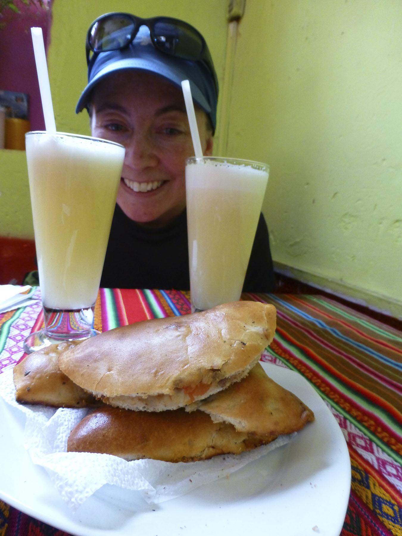 Empanadas y Hugos!