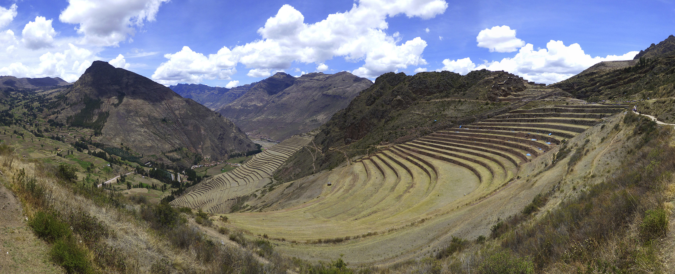 Terraces of the Pisac Ruins
