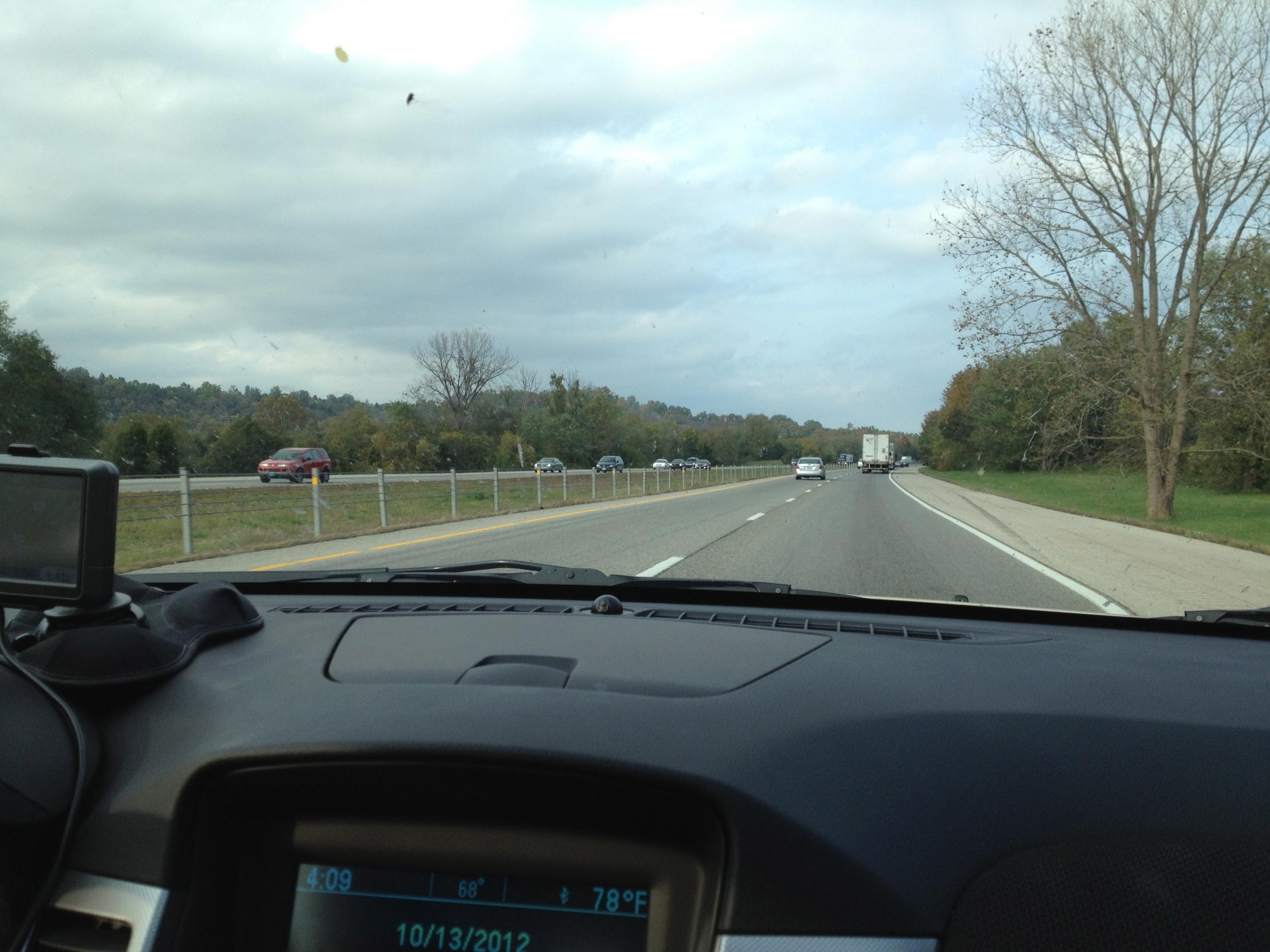 I-65 N toward Frankfort, KY