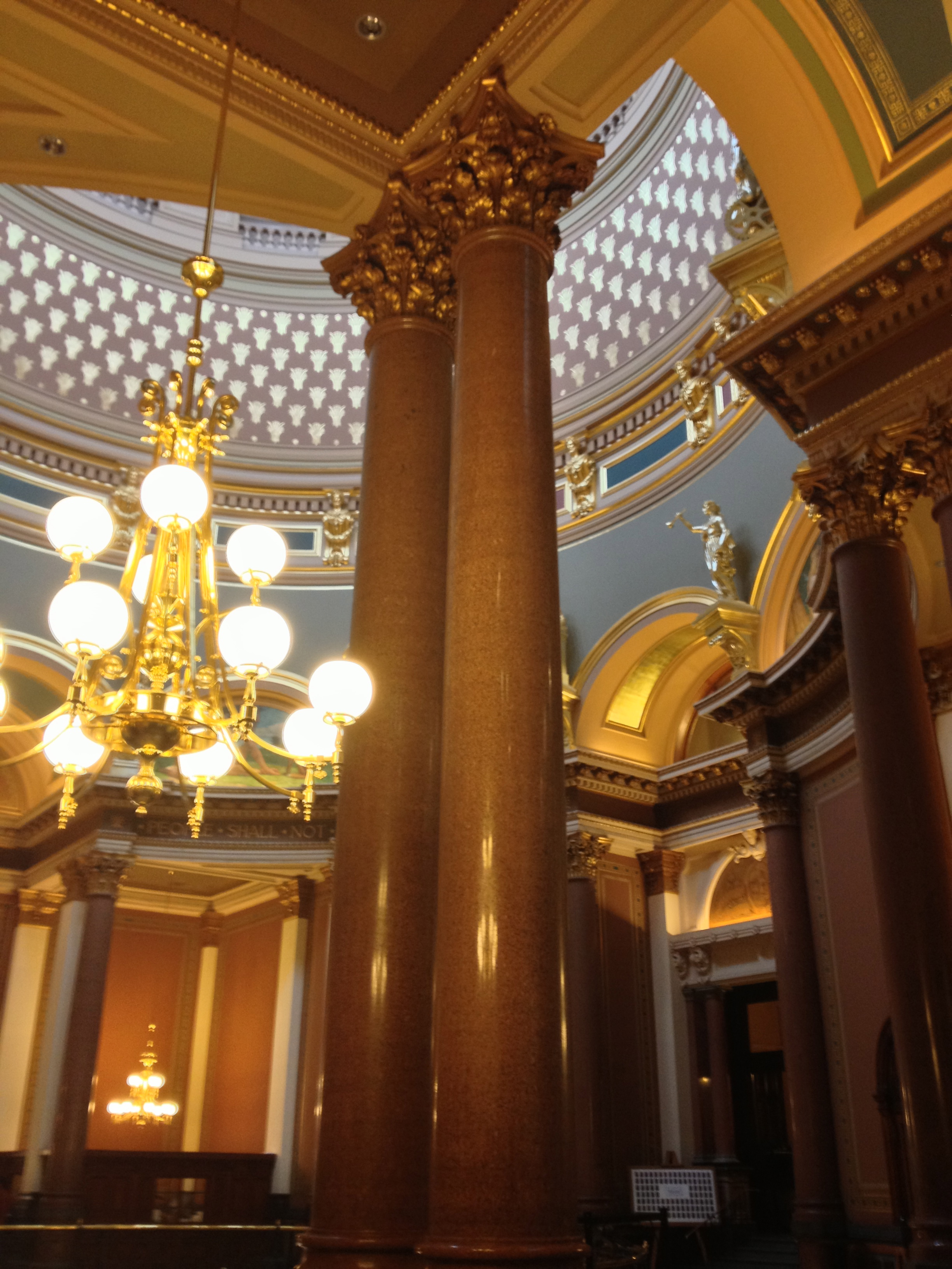 The Statehouse of this highly-engaged state is gorgeous.