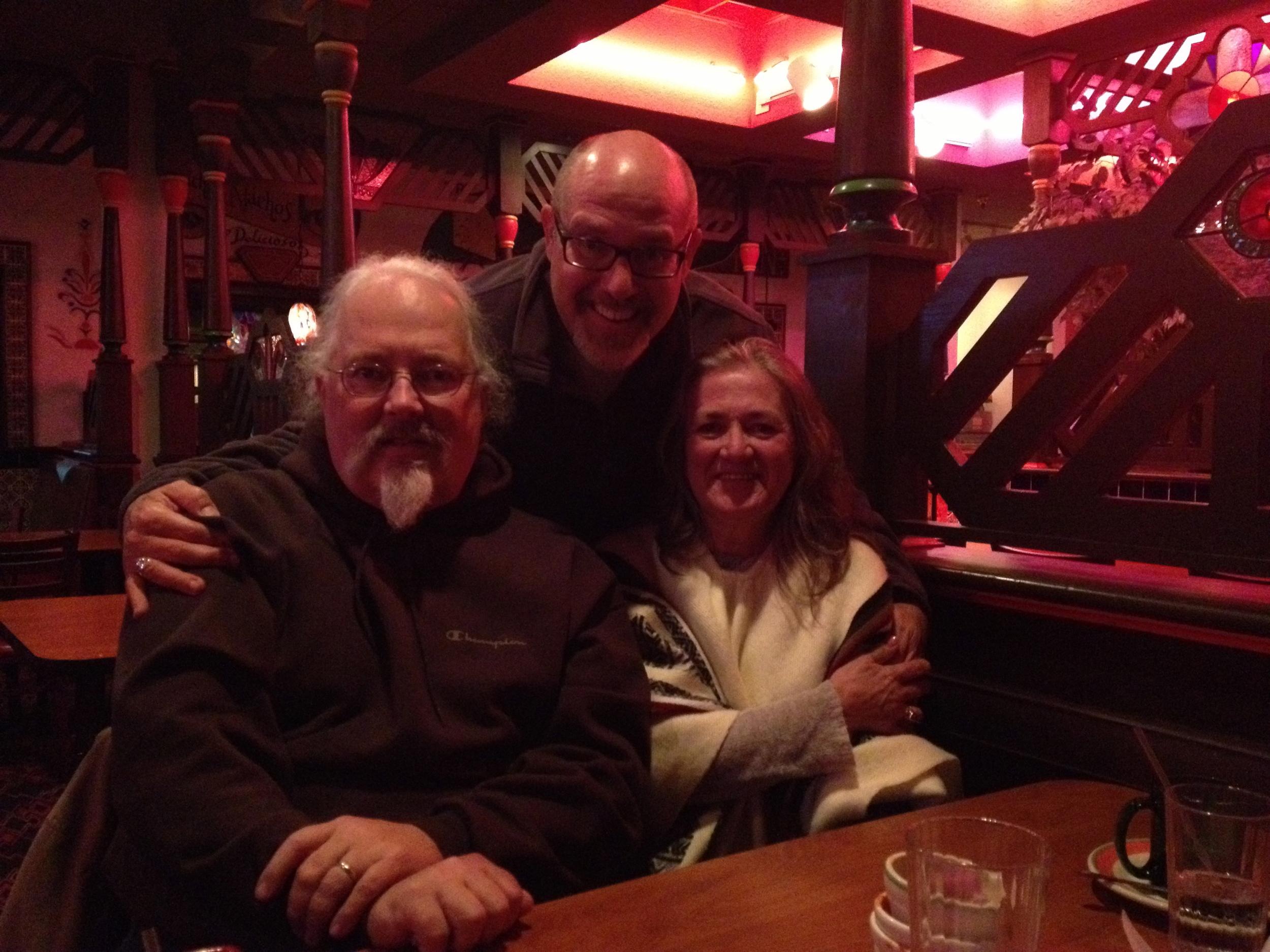 Even North Dakota has Mexican food. (With Tim & Annie Tripp)