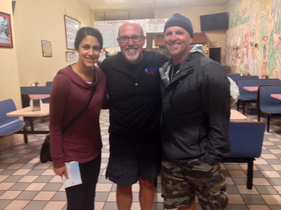This sweet young lady, Adriana, asked if she could bless two tired prayerwalkers with a late dinner. She recommended a tacqueria right down the street. Tenderest Chile Verde on trip so far... An appreciated gift from an impressive leader of the next generation. Thanks Adriana.