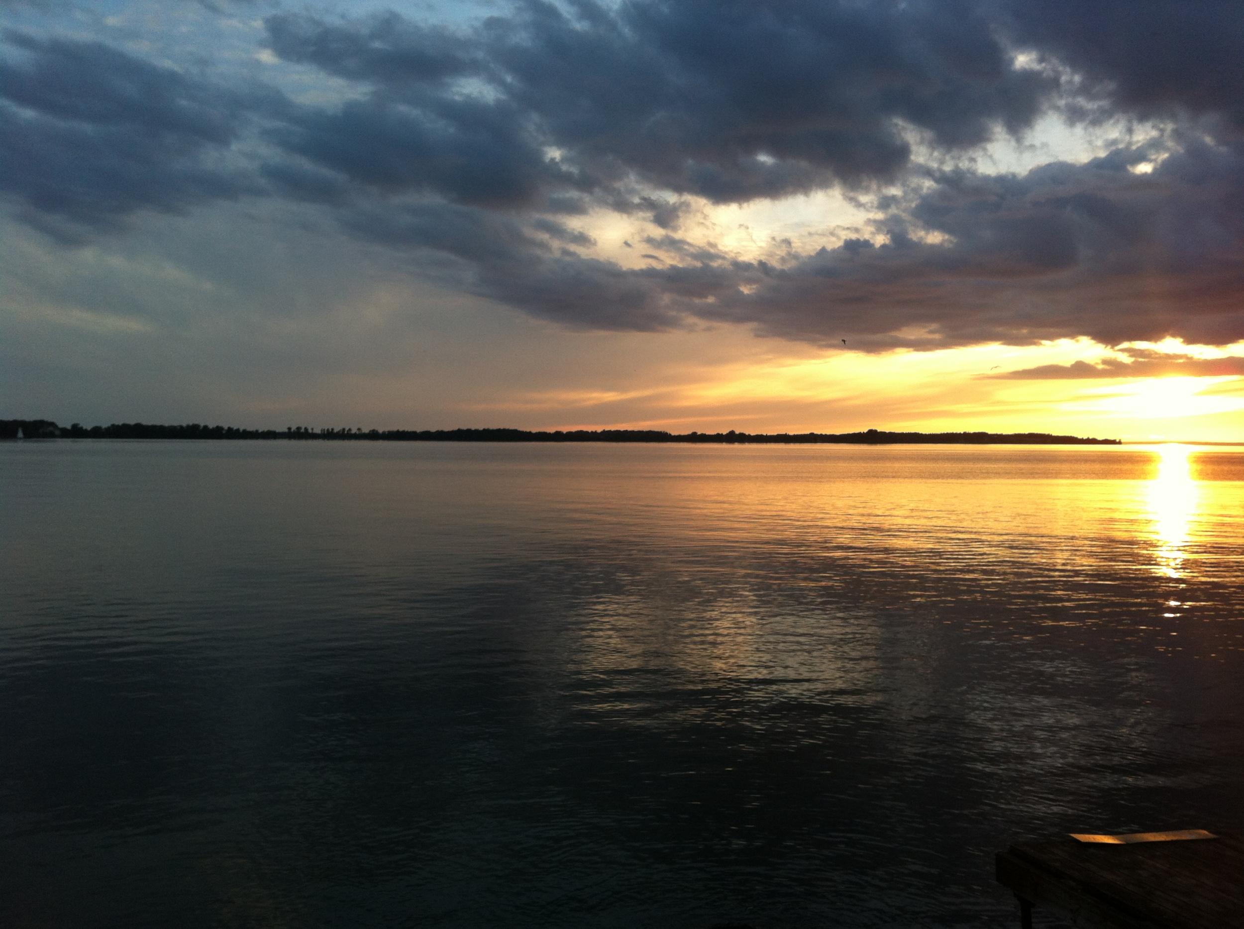 Sunset at 10:30pm