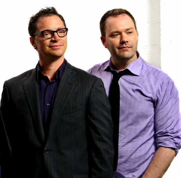 Joshua Malina and Wilson Cleveland in Leap Year