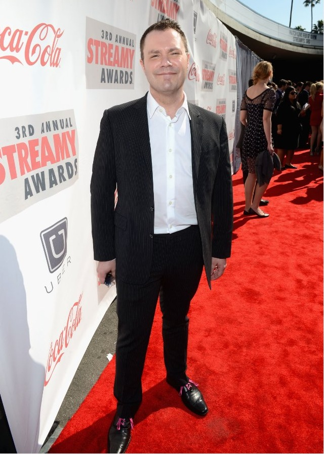 Wilson Cleveland at the 3rd Annual Streamy Awards