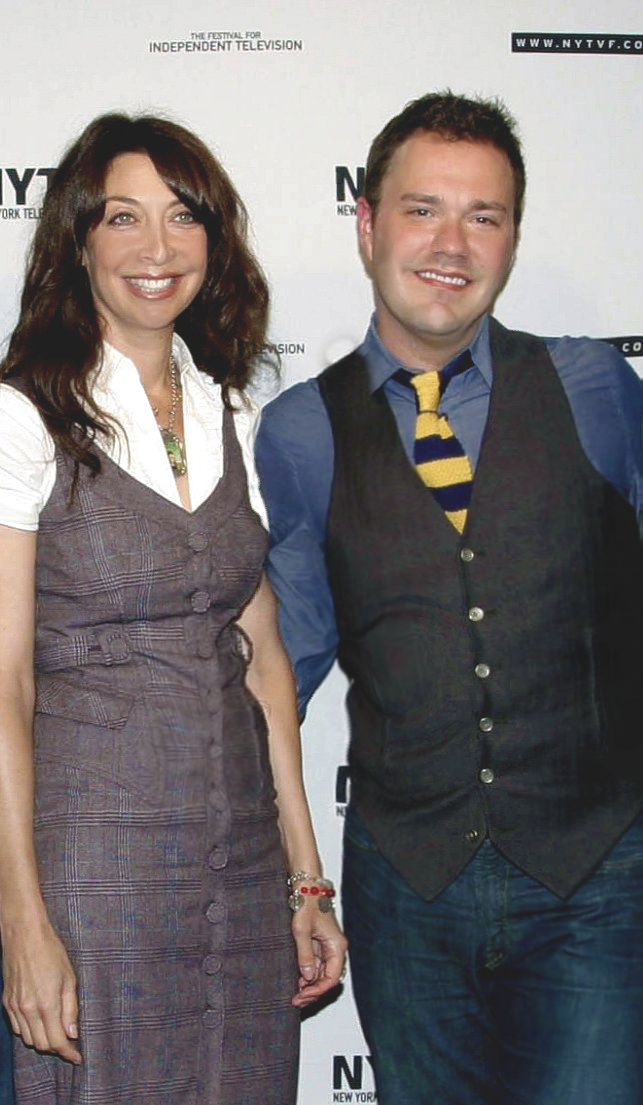 Illeana Douglas and Wilson Cleveland at the NY Television Festival