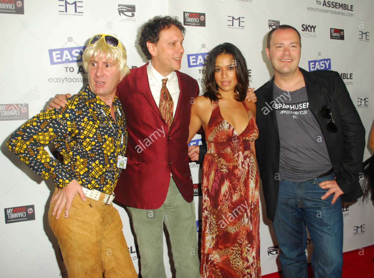 Michael Irpino, Todd Spahr, Ogy Durham, Wilson Cleveland at the Easy to Assemble Season 2 premier